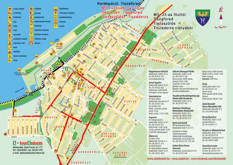 abádszalók térkép Abádszalóki Vitorlás Vendégház » Kapcsolat abádszalók térkép