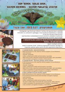 """""""Édes Élet"""" a Tisza-tónál! Abádszalóki Vitorlás Vendégház szállás és program ajánlata: """"Egy csepp Tisza-tó"""" márka név alatt - a sulyom növény terméséből készült sulyomvelővel, illetve sulyompárlattal ízesített kézműves csokoládé készítését bemutató programmal várjuk a 0 – 99 év közötti egyéni és csoportos vendégeinket. www.vitorlastiszato.hu www.vitorlastiszato.com vitorlas@tiszato.hu +3620206694462"""