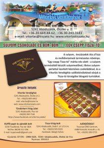 Tisza-tavi ajándék, helyi kézműves termék,